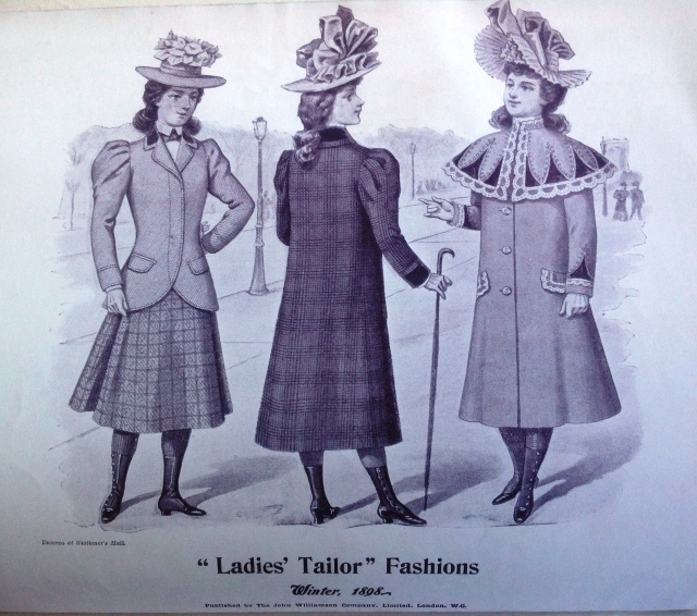 Ladies Taylor Fashions 1898
