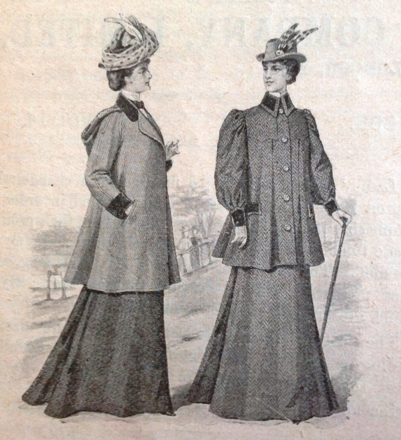 ladies fashion 1898