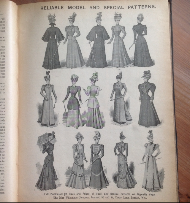 Ladies Newmarket Coats 1898